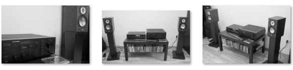 ELAC BS 243 - PIONEER A-77x - PHILIPS CD473