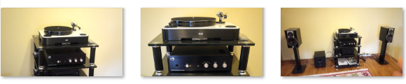 ELAC Miracord 90 - Rogue Audio Sphinx - DALI Rubicon 2 - Audiolab M-DAC - Audiolab M-CDT