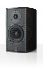 ATC SCM 7 black ash side with grille