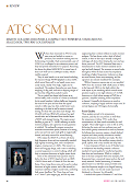 ATC SCM 11 -  HiFi Critic review