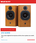 "ATC SCM 19 - What Hi Fi? Sound and Vision Awards 2016 - ""Best standmounter £1200+"""