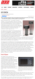 ATC SCM 25A Pro - Phil Ward, Sound on Sound Magazine review