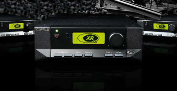 CYRUS 8₂ DAC QXR integrated amplifier with onboard DAC