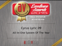 "Lyric 09 - AV Magazine Excellence Awards 2015 ""All-In-One System Of The Year"""