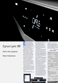 Cyrus Lyric 09 - AVSA review