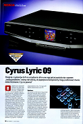 Cyrus Lyric 09 - Hi-Fi Choice Poland review