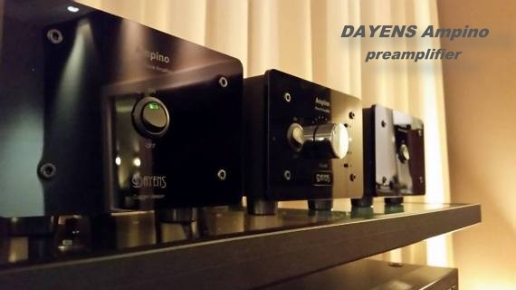 New Ampino preamplifier from DAYENS