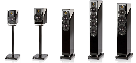 ELAC 240 Black Edition Series - click to enlarge