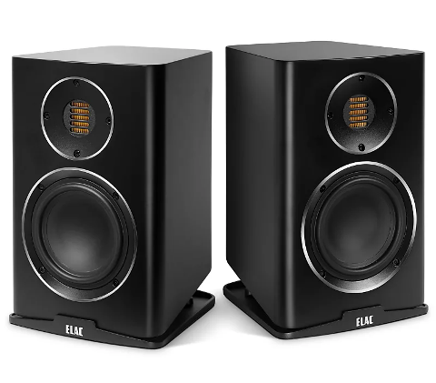 ELAC Carina BS 243.4 satin black finish