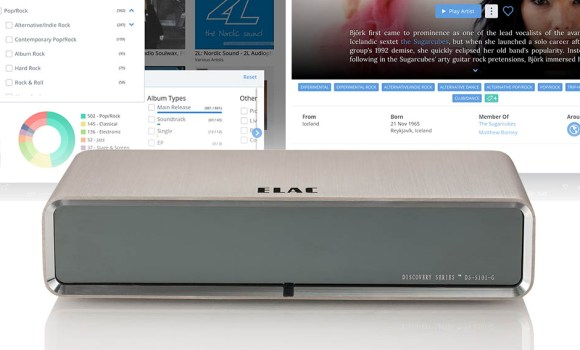 ELAC Discovery DS-S101-G Music Server side