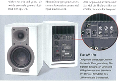 ELAC AM 150 Stereoplay (Germany) review cover 1