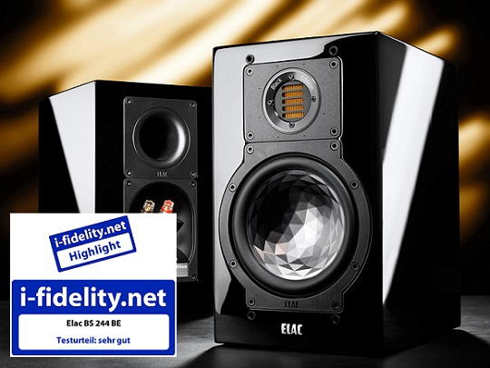 ELAC BS 244 Black Edition - i-fidelity (Germany) review