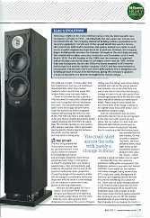 ELAC FS 247 Sapphire Edition - Hi-Fi News (July 2011 issue) review cover 1