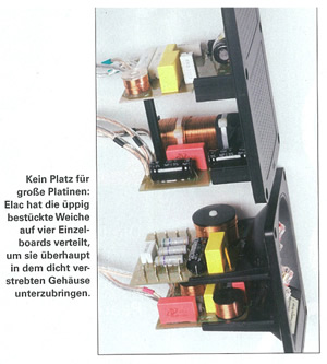 ELAC FS 249 - AUDIO (Germany) review - Weiche