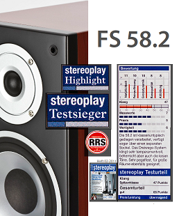 ELAC FS 58.2 - Stereoplay (Germany) review