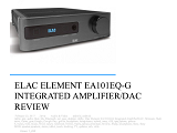 ELAC Element EA101EQ-G - (US) review