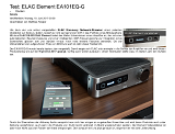 ELAC Element EA101EQ-G - Hi-Fi Journal (Germany) review